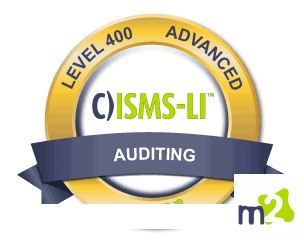C)ISMS-LI Information Security Management Systems Lead Implementer badge