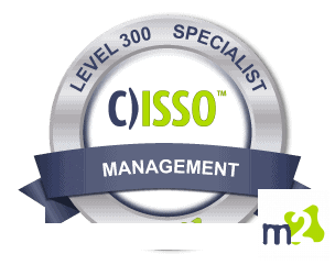 C)ISSO Information Systems Security Officer badge