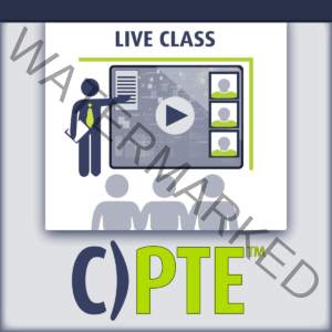 C)PTE Penetration Testing Engineer Live Class