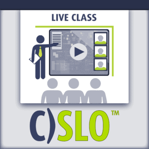 C)SLO Certified Security Leadership Officer Live Class